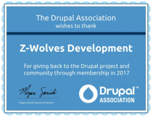 A pack of Z-Wolves in the Drupal flock