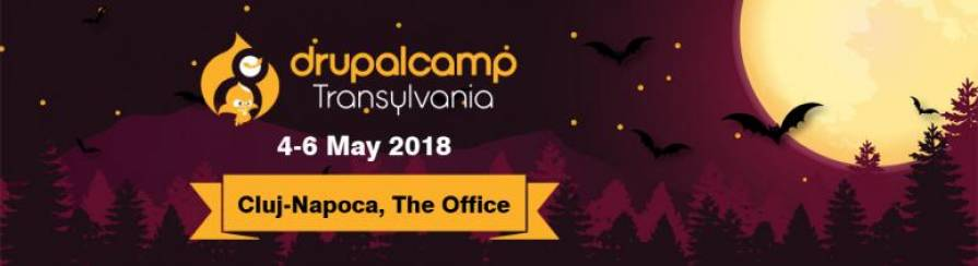 WELCOME TO DRUPALCAMP TRANSYLVANIA 2018!